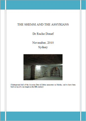 The Shemsi and the Assyrians by Dr Racho Donef
