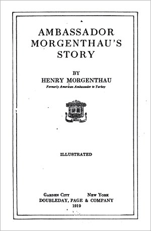 Henry Morgenthau's Story