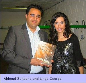 Abboud Zeitoune and Linda George
