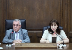 Mkrtich Minasyan and Ruzanna Arakelyan