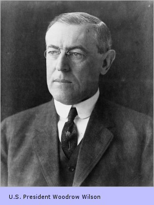 Woodrow Wilson, the 28th American president