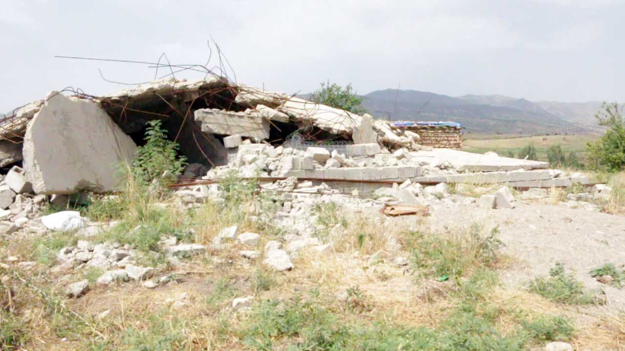 Zebari tribe home destroyed