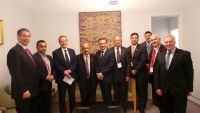 Meeting with The Hon Bill Shorten MP, Leader of the Opposition, The Hon. Chris Bowen MP, Shadow Treasurer, Senator the Hon Stephen Conroy , Defence Shadow Minister, Mr Chris Hayes MP, Federal Member for Fowler.
