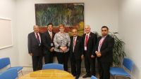 Meeting with Senator the Hon Marise Payne, Minister for Human Services.