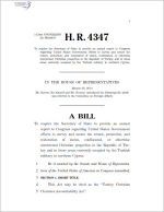H.R. 4347, Turkey Christian Churches Accountability Act, authenticated, June 26, 2014.