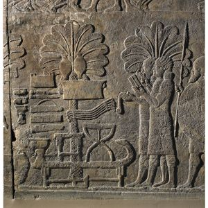 Assyrian Scribes - Stone Panels - Palace of Sennacherib, 640-615 BC