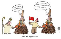 Turkish Denial of the Armenian Genocide - find the differences - part 1