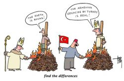 Turkish Denial of the Armenian Genocide - find the differences - part 2