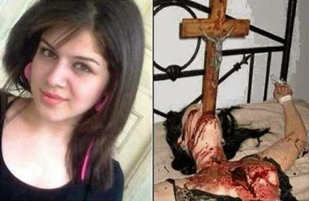Assyrian Christian woman killed by Islam and Islamic jihadists in Syria.