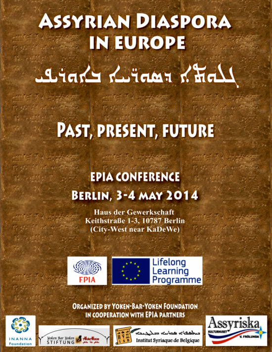 Germany, Berlin: Conference: Assyrian Diaspora in Europe: Past, Present and Future