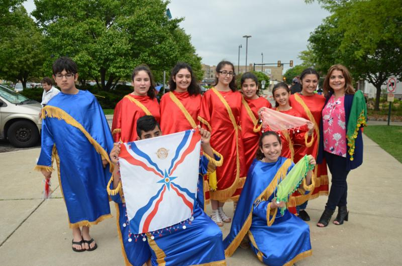 Assyrian Dance Group at the Skokie Festival of Cultures.