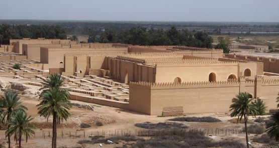 The ancient city of Babylon (Babil province, Iraq)