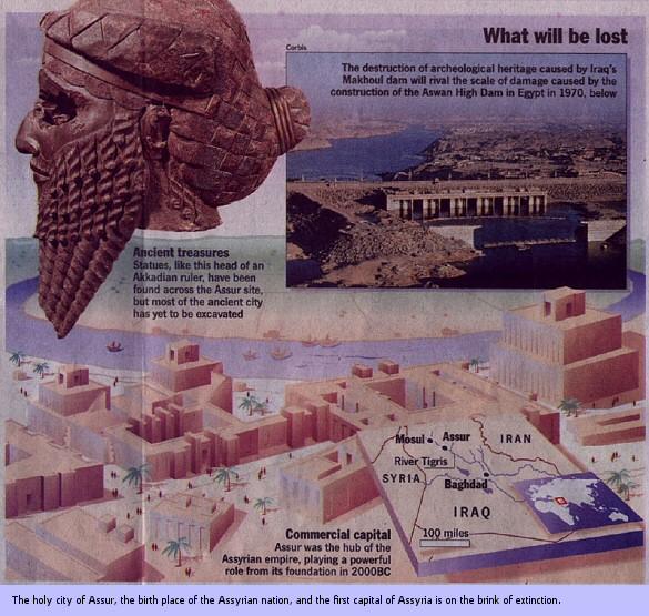 Ashur, capital of Assyria