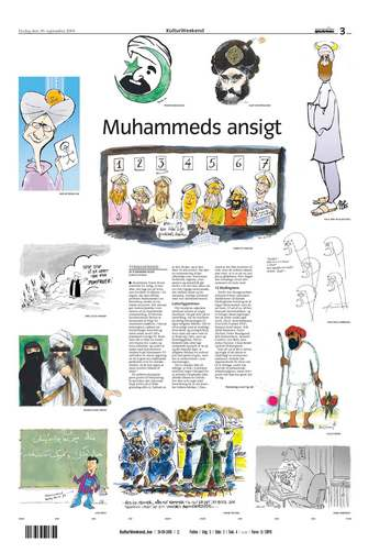 Danish Jyllands-Posten Muhammad cartoons