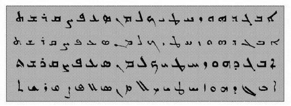 The Aramaic Alphabet