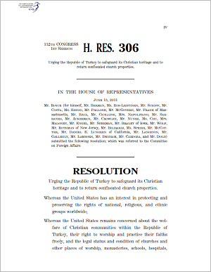 U.S. Congress, House Resolution 306