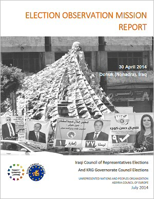 2014 Election Observation Mission Report: Iraqi Council of Representatives Elections and KRG Governorate Council Elections