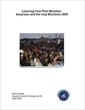 Learning from Past Mistakes: Assyrians and the Iraqi Elections 2008
