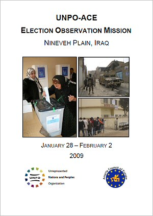 UNPO-ACE Election Observation Mission Nineveh Plain, Iraq
