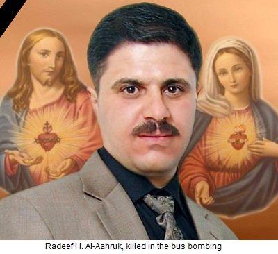 Radeef H. Al-Aahruk and Sandy Shabib were killed.