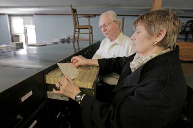 Martha Roth and Robert Biggs