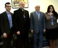 AUA Americas meets with the Iraqi Ambassador to the UN in Geneva His Excellency Mr. Mohammad Sabir Ismail.
