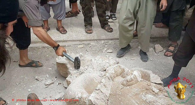 The Dead Die Twice: Islamists Destroy Ancient Assyrian Artifacts and Archaeological Sites