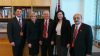 From left Mr Paul Azzo, The Honorable Julie Bishop MP, Minister for Foreign Affairs, Mr David David, Senator Concetta Fierravanti-Wells, Mr Hermiz Shahen.