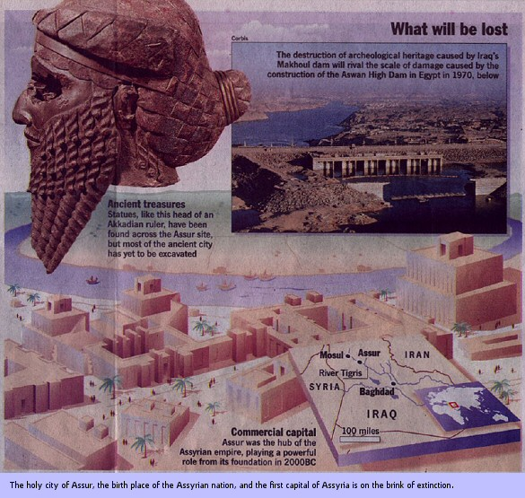 Ashur, capital of Assyria